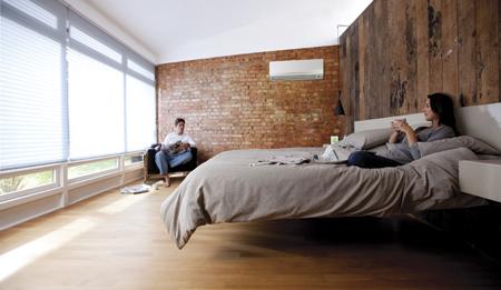 Daikin wall mount bedroom